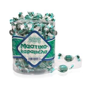 Mastic sugar candy crystal. Oval box 250g