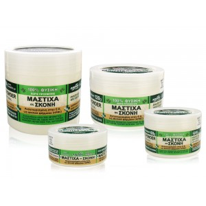 Natural gum mastic / mastiha grounded in powder