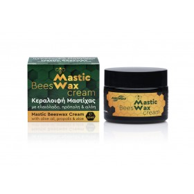 Mastic bees wax with bio olive oil. Jar 50ml