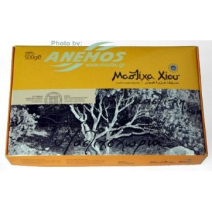 Natural Chios mastic. Box 500g Large size tears