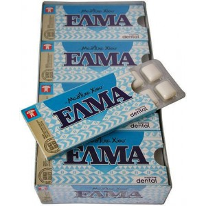 ELMA Dental gum with mastic without sugar
