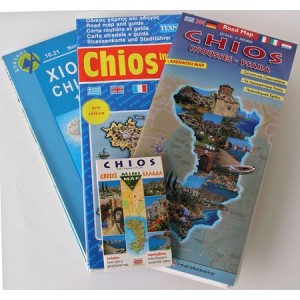 and tourist maps of Chios