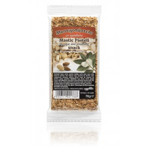 """Snack with mastic and almonds """"mastihopastelo"""" 70g"""