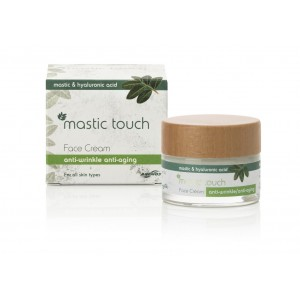 Anti wrinkle, anti ageing cream with Mastic & Hyaluronic Acid 50ml