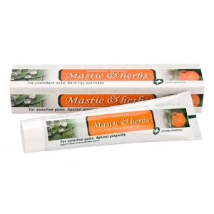 Toothpaste Mastic & herbs with mastic & mandarin