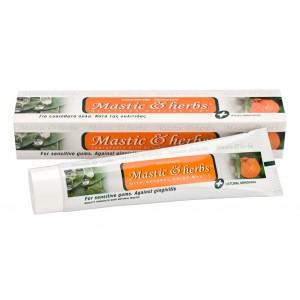 Zahncreme Mastix & Kräuter mit Mastix und Mandarine
