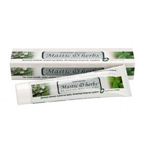 Οδοντόκρεμα Mastic & herbs με μαστίχα & δυόσμο