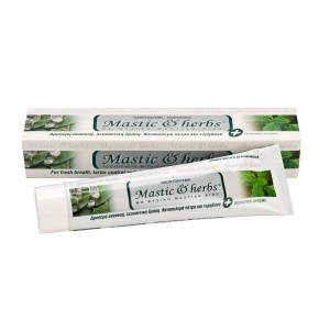 Toothpaste Mastic & herbs with mastic & spearmint