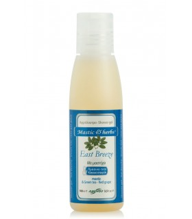 "Gel bain douche mastic & herbs ""East-Breeze"" 100ml"
