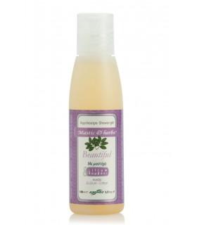 "Gel bain douche mastic & herbs ""Beautiful"" 100ml"