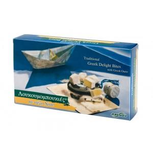 Λουκούμια Χίου ούζο σε χαρτ. κουτί 200g