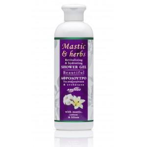 "Gel bain douche mastic & herbs ""Beautiful"" 300ml"