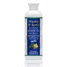 """Αφρόλουτρο mastic & herbs """"East Breeze"""" 300ml"""