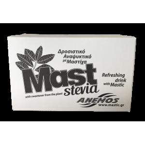 Mast Ανθρακούχο αναψυκτικό με Στέβια. (24 Μπουκαλάκια) 250ml
