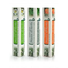 3 dentifrices naturels au Mastic & herbs