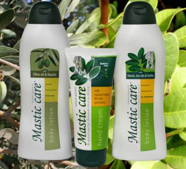 mastic body lotion