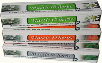 mastic Dentifrices